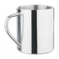 Polished Stainless Steel Cup