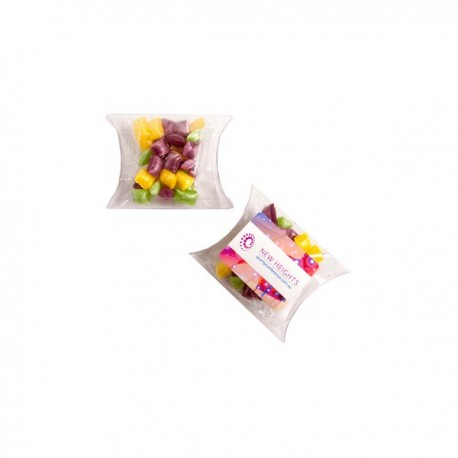 Corporate Coloured Humbugs in Pillow Pack 20G