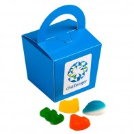 Coloured Noodle Box Filled with Mixed Lollies 100G