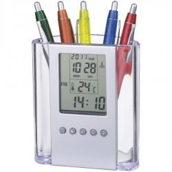 Alarm Clock and Pen Holder