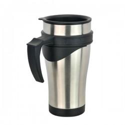 Baroque Mug Silver