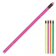 Neon Pencil (Non Sharpened w/Eraser)
