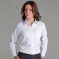 JB's Ladies L/S Poplin Shirt