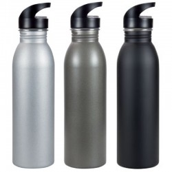Matte Stainless Steel Sipper Bottle