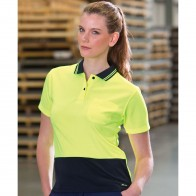 JB's Ladies HV S/S Comfort Polo