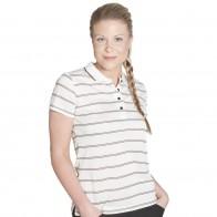 Podium Ladies Alt Stripe Polo