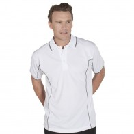 Podium S/S Piping Polo