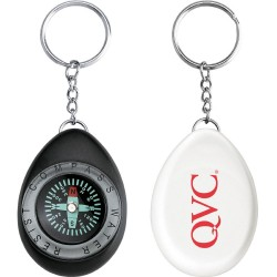 Oval Compass / Key Ring