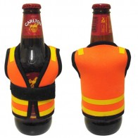 Safety Vest Bottle Cooler