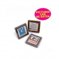 Picture Chocolate – Milk or Dark Chocolate in PVC Stand Up Box