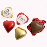 Chocoalte Heart 7G (Pink, Red or Gold Heart)