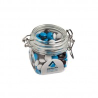 Choc Beans (Smartie Look Alike) in Canister 200G (Corporate Colours)
