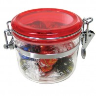 Canister Filled with Lindor Balls X 12