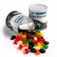 Jelly Beans in Pull Can 275G (Mixed Colours or Corporate Colours)