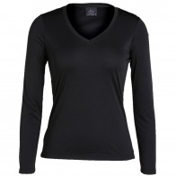 JB's Ladies L/S V Neck Slinky Tee