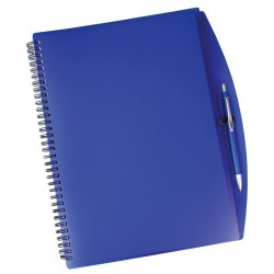 A4 Spiral Notebook and Pen