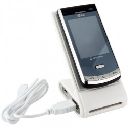 Phone Holder with 4 USB Ports