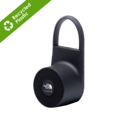 Tuba Wireless outdoor speaker in Recycled ABS - Black