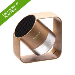 Kobra Wireless speaker - Plant Fibre & Aluminium