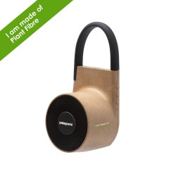 Tuba Wireless outdoor speaker in Plant Fibre