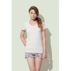 Womens Janet Organic V-neck