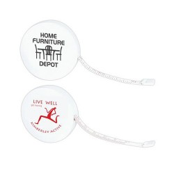 White Styleline Tape Measure