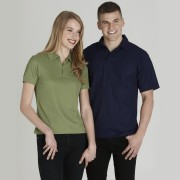 Men'S Micro Waffel Polo
