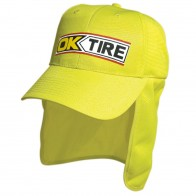 Luminescent Safety Cap with Flap